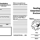 Reading Comprehension Brochure: Can be used with any book!