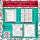Reading Comprehension: Choice Boards (Tic-Tac-Toe), Discus