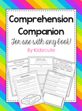 Reading Comprehension Worksheets and Activities Packet