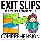 Reading Comprehension Exit Slips: Year-Round DRA Skill-Building