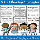 Reading Comprehension Pack for 1st and 2nd