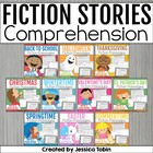 Reading Comprehension Packs Bundled {10 Seasonal Sets}
