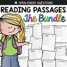 Reading Comprehension Passages {BUNDLED & Common Core}