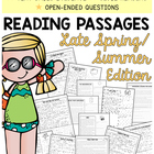 Reading Comprehension Passages {Late Spring/Summer Themed