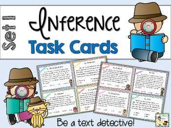 Reading Comprehension Task Cards ~ Daily Dose ~ Set 1