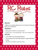 Reading Comprehension Rules (RC Rules) Poster