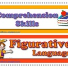 Reading Comprehension Skills and Figurative Language Posters