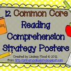 Reading Comprehension Strategies Posters {Common Core}