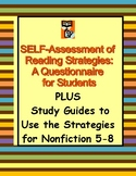 Reading Comprehension Strategies: Student Questionnaire &