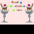 Reading Comprehension Sundae for the SMARTboard
