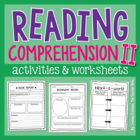 Reading Comprehension TWO!!