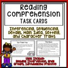 Reading Comprehension:  Task Cards
