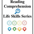 Reading Comprehension Worksheets, Life Skills Series