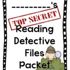 Reading Comprehension packet- Reading Detective