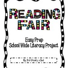 Reading Fair Project Packet