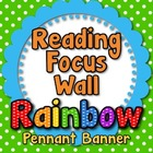 """Reading Focus Wall"" Banner or Bunting"