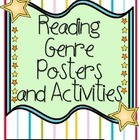 Reading Genre Posters and Activities