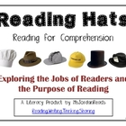 Reading Hats for Comprehension: Posters & Bookmarks