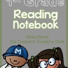 Interactive Reading Notebook 1st Grade Volume 1