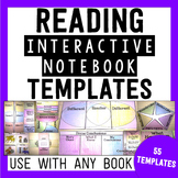 Reading Interactive Notebook Templates - {55 Pages of Fold