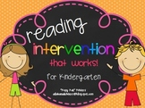 Reading Intervention that Works