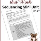 Reading Lessons That Work - Sequencing Mini Unit