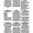 Reading Literature, Grade 6, Common Core Activity Menu/Lit