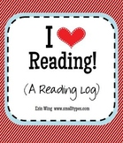 Reading Log: I Love Reading!