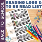 Reading Log, Wishlist, and Genre Study