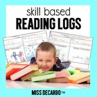 Reading Logs For The Common Core!