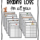Reading Logs {for all year}
