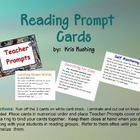 Reading Prompt Cards