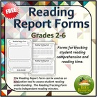 Reading Report Forms - Grades 2-6