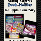 Reading Response Book-tivities {for Upper Elementary}