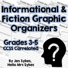 3rd 4th 5th CCSS Reading Response Literature Informational
