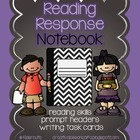 Reading Response Notebook ~ Writing Prompts ~ Fiction and