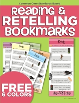 Reading & Retelling Bookmarks
