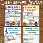 Reading Skills & Comprehension Activities Bundle