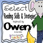 Reading Skills & Strategies Packet inspired by Owen by Kev