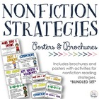 Reading Strategies Bundle {Posters + Nonfiction Brochures}