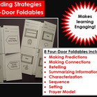 Reading Strategies:  Four Door Foldables