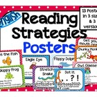 Reading Strategies Posters- English