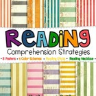 Reading Strategies: Subway Art, Comprehension Sticks & Necklaces