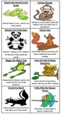 Reading Strategy Bookmark- Decoding and Comprehension Characters