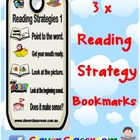 Reading Strategy Bookmark Mates - 1 page