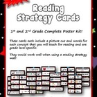 Reading Strategy Cards - 1&2  Grade Seeing Stars