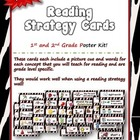Reading Strategy Cards - 1&2  Grade Zebra