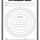 Reading Strategy Graphic Organizer - Synthesizing Wheel