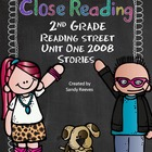 Reading Street 2008 2nd Grade Close Reading Bundle-5 stories CCSS