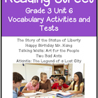 Reading Street Vocabulary Unit 6 Grade 3